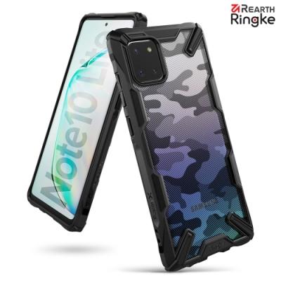 【Ringke】Rearth 三星 Samsung Galaxy Note 10 Lite [Fusion X Design] 透明背蓋防撞手機殼