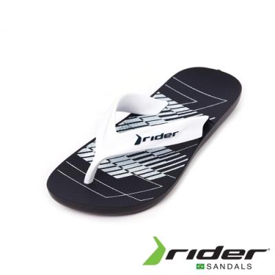 Rider STRIKE GRAPHICSE系列人字夾腳拖鞋(男款)-白