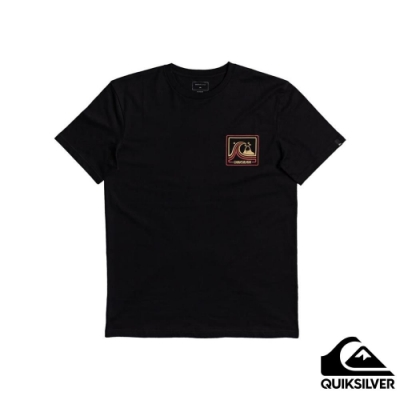 【QUIKSILVER】HIGHWAY VAGABOND SS 針織T恤 黑色