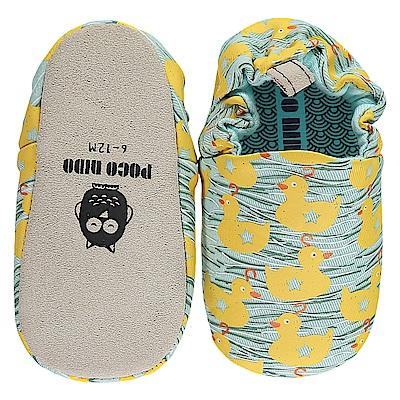 英國 POCONIDO 手工嬰兒鞋 (游泳的小鴨)