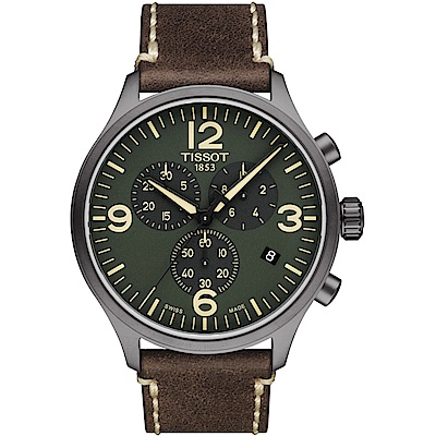TISSOT天梭Chrono XL韻馳系列經典計時腕錶(T11661736097000)