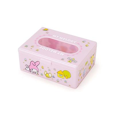 Sanrio 美樂蒂袖珍型面紙收納盒(復古懷舊)