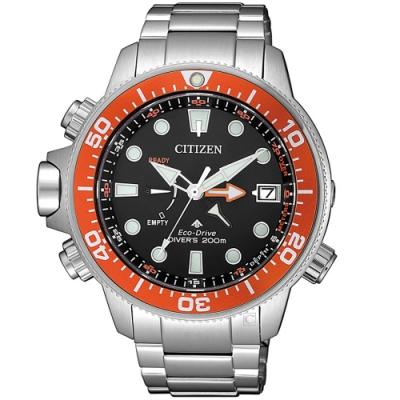 CITIZEN星辰PROMASTER極限深海光動能潛水錶(BN2039-59E)-紅