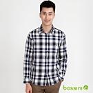 bossini男裝-牛津襯衫03黑白