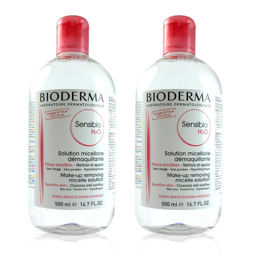 BIODERMA 舒妍高效潔膚液(一般型)  500ml (2入)