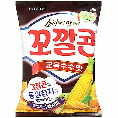 Lotte 樂天玉米脆餅-燒烤味(72g)
