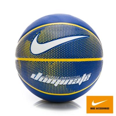 NIKE DOMINATE 7號籃球 藍黃 NKI0049207
