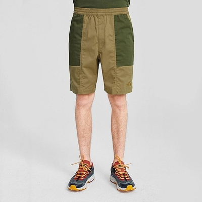 The North Face M PULL ON SHORT 男 短褲 卡其-NF0A4U9JPLX