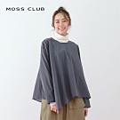 【MOSS CLUB】MIT台灣製細格紋傘狀-襯衫(三色)