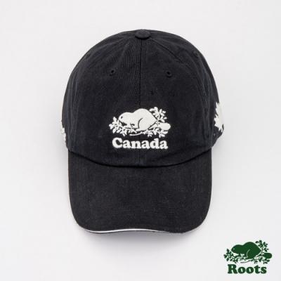 Roots配件- 加拿大系列棒球帽-黑
