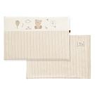 奇哥 有機棉乳膠平枕-附布套(45x30x2.5cm)