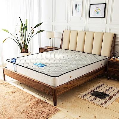時尚屋 莎曼撤防潑水蜂巢二線3.5尺加大單人獨立筒彈簧床墊