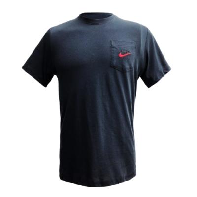 NIKE 短袖上衣  男款 訓練 慢跑 健身 黑 CK2235010 AS M NSW AIR POCKET SS TEE