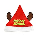 摩達客 耶誕派對-綠字麋鹿角聖誕帽YS-XH10047