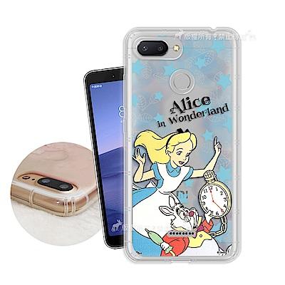 迪士尼授權正版 紅米6 繽紛空壓安全手機殼(愛麗絲)
