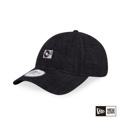 NEW ERA 9THIRTY 930 MINI LOGO 黑膠唱片 單寧黑 棒球帽