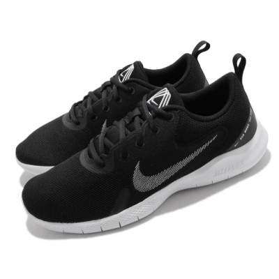 Nike 慢跑鞋 Flex Experience RN 男鞋 輕量 透氣 舒適 避震 路跑 健身 黑 白 CI9960002