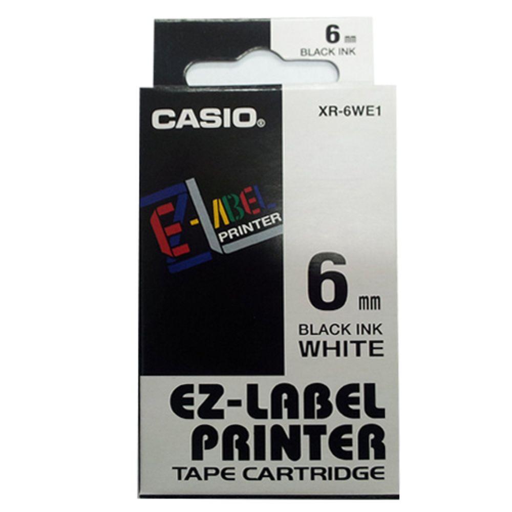 (團購5捲) CASIO 6mm標籤機色帶共5色-(另可任選顏色)