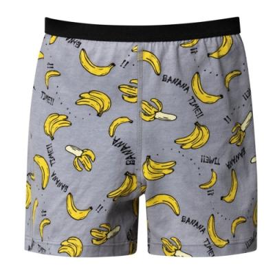 DADADO-筆筆成蕉 110-130男童內褲(灰) 品牌推薦-舒適寬鬆