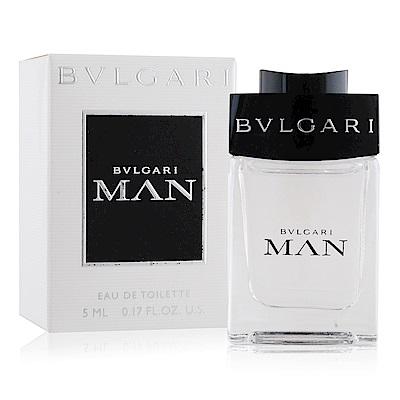 BVLGARI 寶格麗 MAN當代男性淡香水5ml