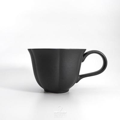 【智造所】H.U.A 小花杯咖啡杯 黑BLACK/HUA-CUP-BK