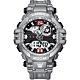 LARMES Transformers 變形金剛 聯名限量潮流雙顯腕錶 (密卡登)LM-TF004.MT33G.211.3GB product thumbnail 1
