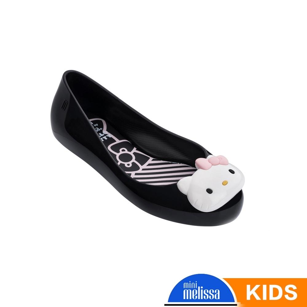 Melissa Hello Kitty國際聯名款 娃娃鞋 黑