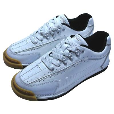 【DJ80嚴選】LANEWOLF雙腳換底頂級保齡球鞋T2款白(全配附4底+4跟+鞋套)