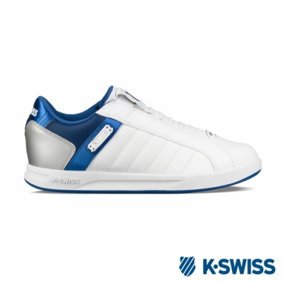 K-SWISS Lundahl Slip-On S CMF運動鞋-男-白/藍