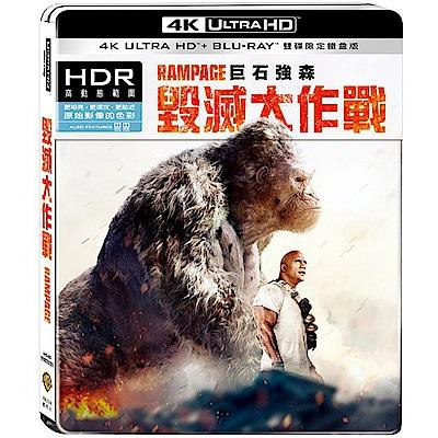 毀滅大作戰 UHD+BD 雙碟限定鐵盒版 藍光 BD