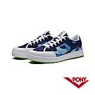 【PONY】SLAM DUNK EG系列-迷彩風格滑板鞋款-男-藍