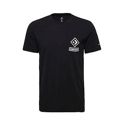CONVERSE-男短袖上衣-黑-10008131-A01