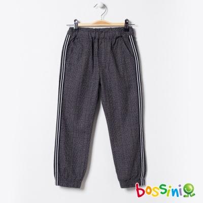 bossini男童-彈性輕鬆束口褲03深灰