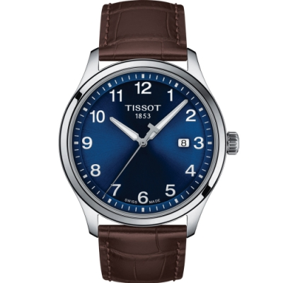 TISSOT天梭GENT XL CLASSIC經典大三針男錶(T1164101604700)