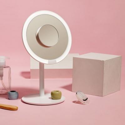AMIRO Mini 高清日光化妝鏡禮盒組 - 櫻花粉