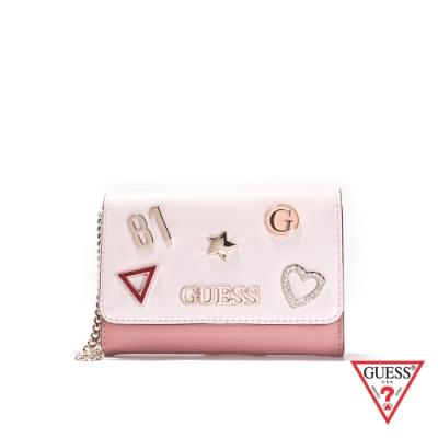 GUESS-女夾-逗趣時尚造型卡夾-雙色