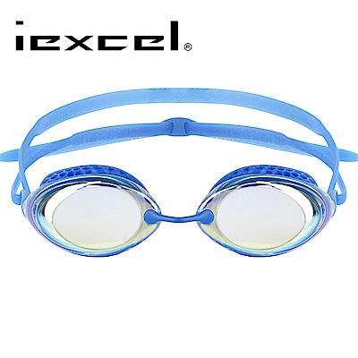 iexcel 蜂巢式電鍍專業光學度數泳鏡 VX-940