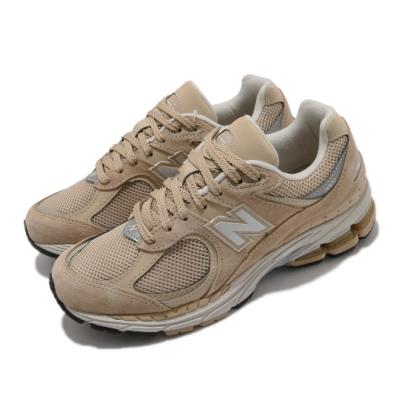 New Balance 慢跑鞋 2002R 運動 男女鞋 紐巴倫 舒適 簡約 情侶穿搭 麂皮 卡其 銀 ML2002R2D