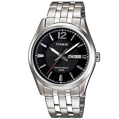 CASIO 簡約風格白領時尚不鏽鋼腕錶(多色任選)MTP-1335系列/38mm