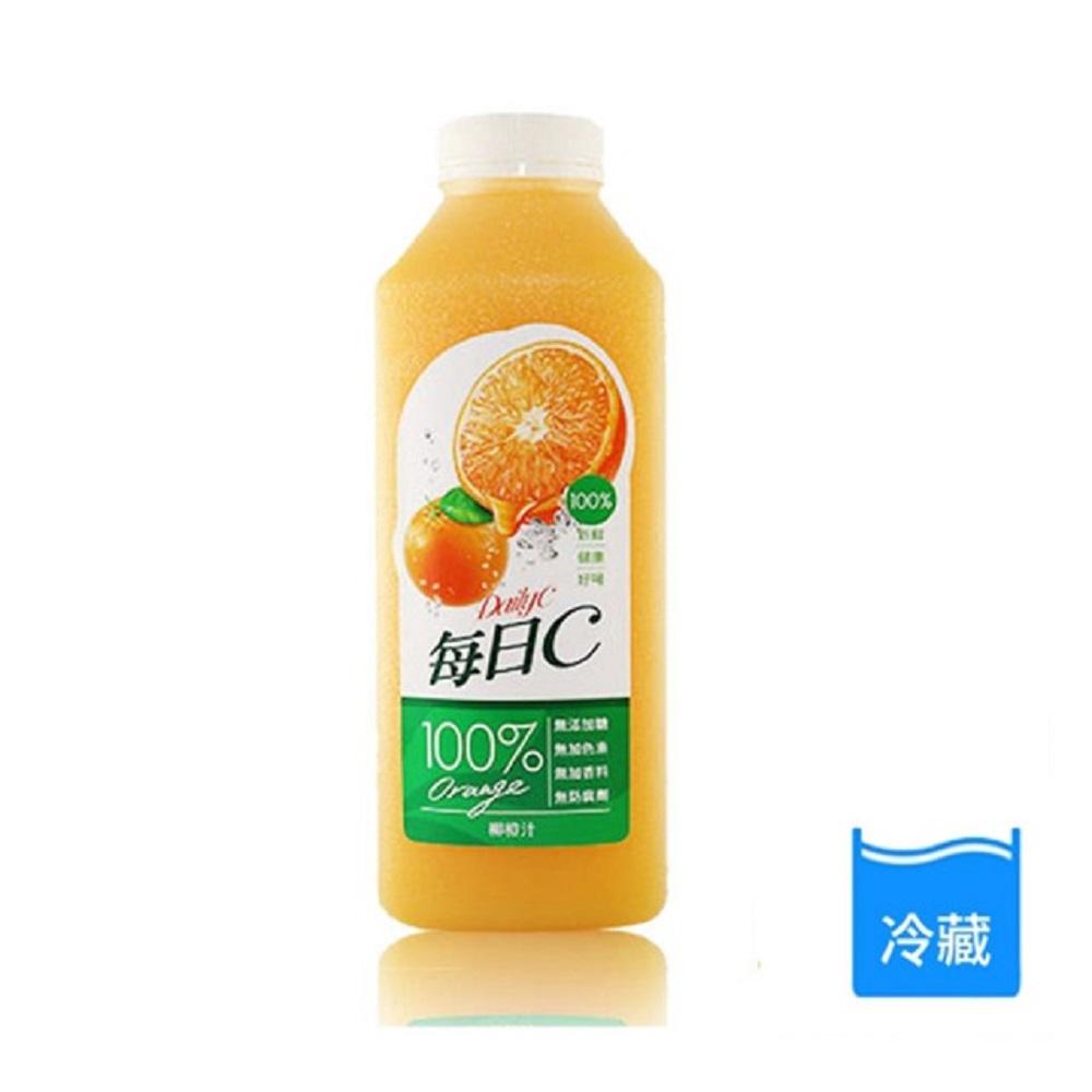 每日C 100%柳橙汁 1460ML