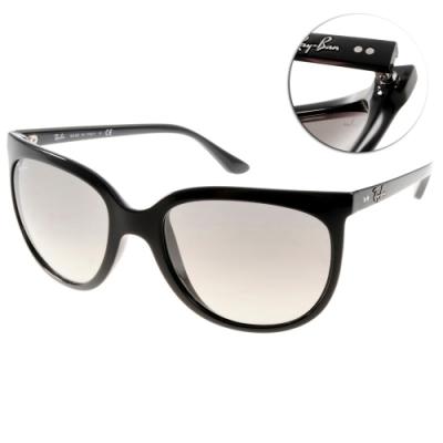 RAY BAN太陽眼鏡 經典貓眼款/黑 # RB4126 60132