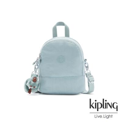 Kipling 歡樂繽紛藍隨身兩用斜背包-IVES MINI