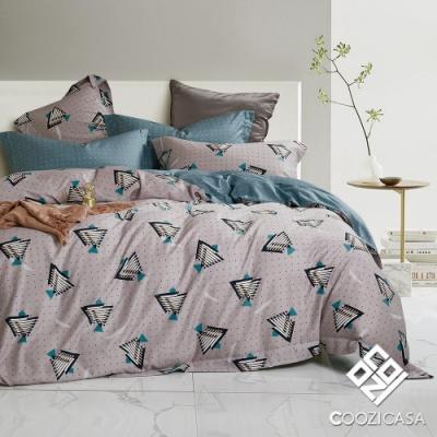DON 異度空間 雙人四件式吸濕排汗天絲兩用被床包組