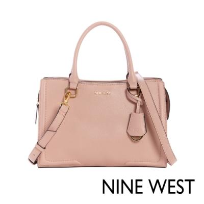 NINE WEST SHAYDEN梯型手提包-玫瑰粉(117206)
