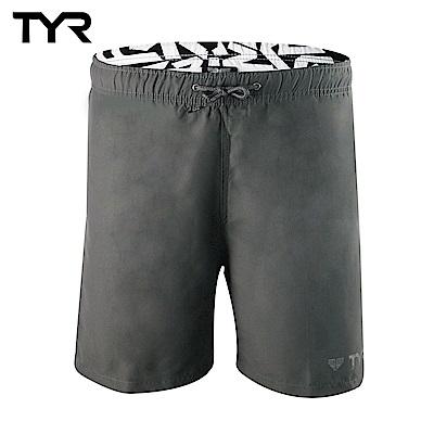 美國TYR 男款透氣慢跑短褲 Bentley Shorts Gray