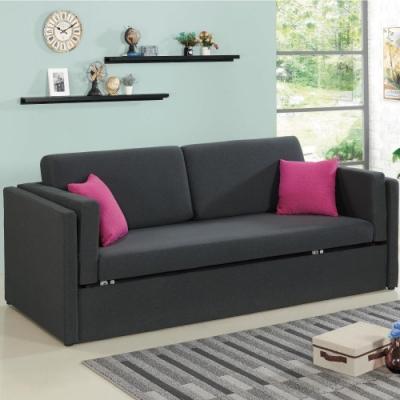 文創集 卡賓娜沙發床(二色+升降式設計+收納層格)-220x94x76cm免組