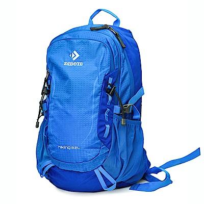 迪伯特DIBOTE 輕便攻頂登山包/短程登山背包/攻頂包-32L(藍)