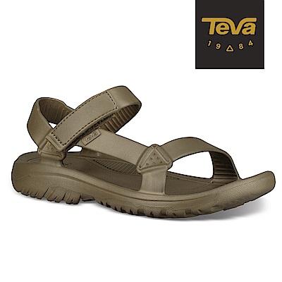 TEVA 原廠貨 男 Hurricane Drift 水陸輕量涼鞋-橄欖綠