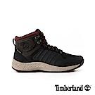 Timberland 男款黑紅色皮革FlyroamT運動靴