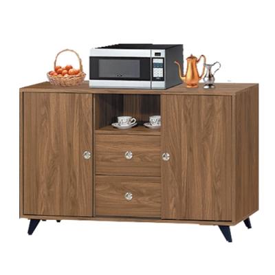 綠活居 賽露絲時尚4尺二門二抽餐櫃/收納櫃-121x40x79cm免組